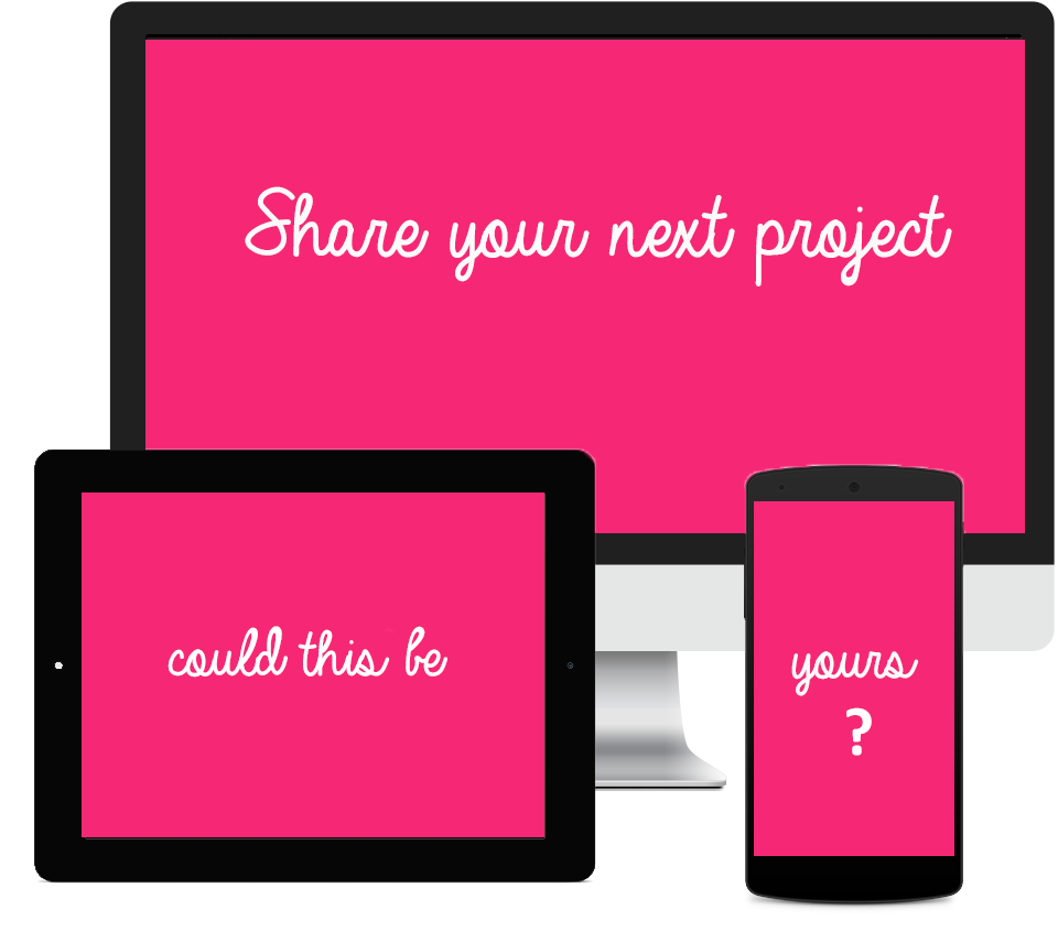 Share your next web project